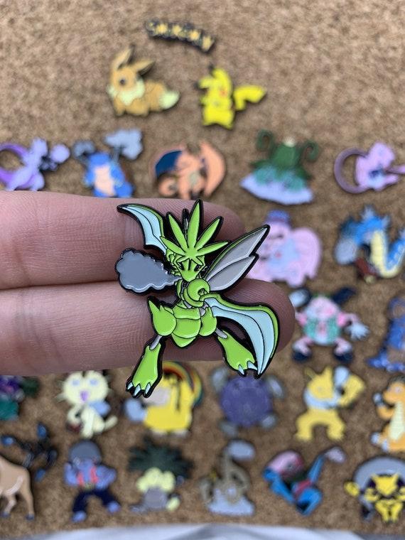 Pokemon Custom Scyther Scizor Bumper Sticker