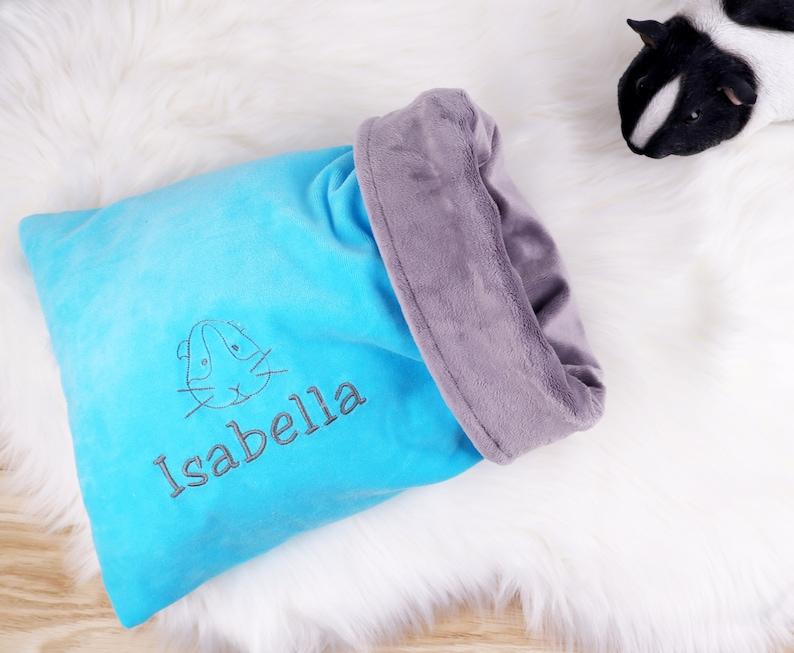 Guinea Pig Hedgehog Cuddle Sack Bed Snuggle Sack Personalized