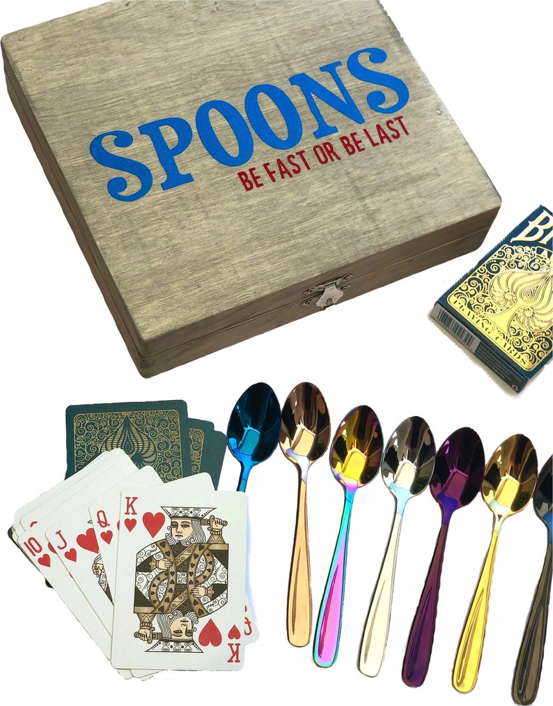 Spoons Card Game Etsy