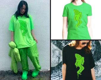 Billie eilish merch t shirt | Etsy NZ