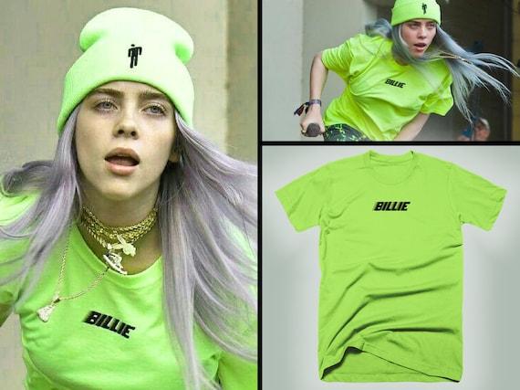 Billie Eilish Friends Hang Billie Eilish T Shirt White Size S-3XL