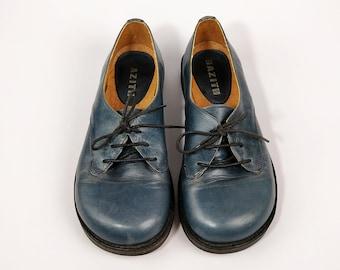 d4091c77f1 Chaussures richelieu et à lacets pour femmes | Etsy FR