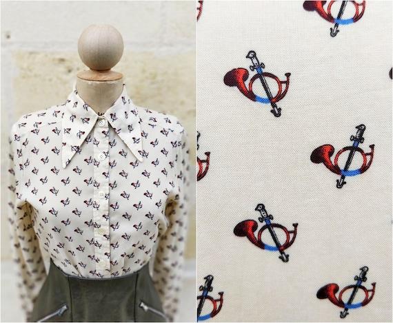 Vintage '70s blouse