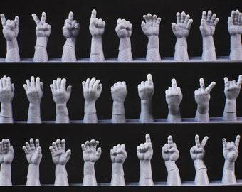 Empty Hands (Includes rude gestures)