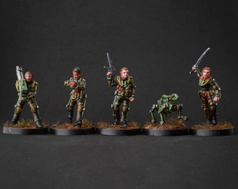 Advanced Warfighters - 28mm Miniatures by MEP Miniatures