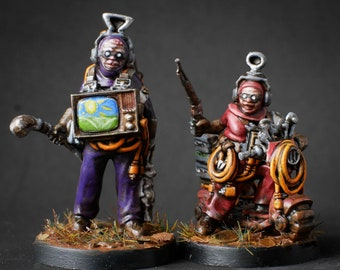 Big Winky and Pipi - 28mm Miniatures by MEP Miniatures