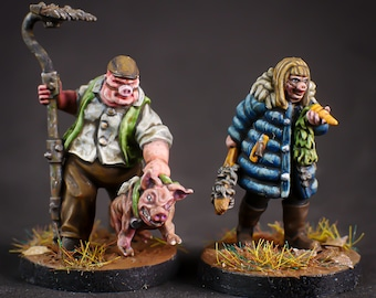 Napoleon and Babe Trotter - Stonegrave - 28mm Miniatures by MEP Miniatures