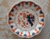 Beautiful (20 cm) handpainted dish. Made by De Porceleyne Fles in Delft. Mid 20th century.