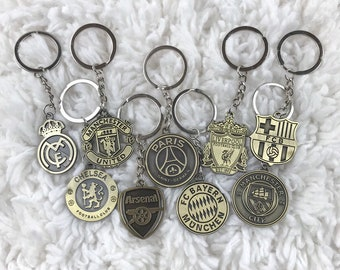 Customized Remove Luggage Tag Label Before Flight Keychain Germany Italy Barcelona French Madrid United Kingdom Football Tag Key Chains Jewelry & Accessories