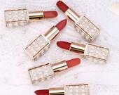 Diamonds and Pearls Velvet Lipstick Collection