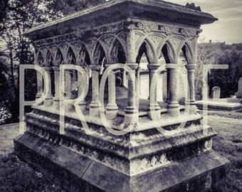 Philadelphia Laurel Hill Cemetery 5x7 Matted Photo