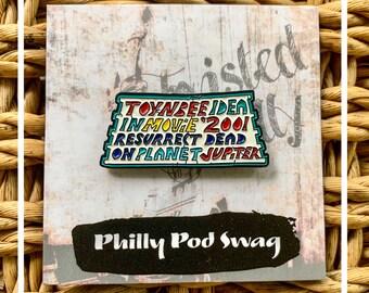 Philadelphia TOYNBEE Mysterious Tile Enamel Pin