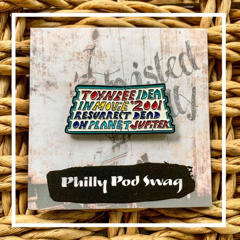 Philadelphia TOYNBEE Mysterious Tile Enamel Pin image 0