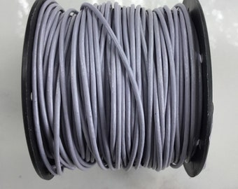 Horizon leather cord 5 yards 1.5 mm, craft leather, leather supply, round leather cord, wrap leather bracelet, by the yard