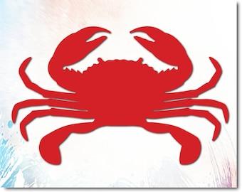 photograph regarding Crab Printable called Crab printable Etsy