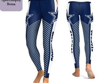 23533e186b new design 2019 Leggings Dallas Cowboys Football Team Sport Fitness Women  yoga gym 3D Print