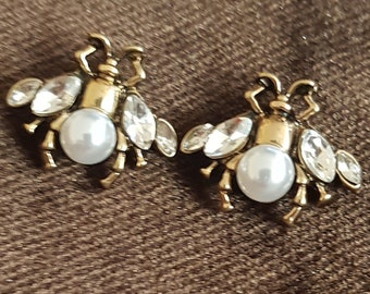 fe509036f17 Gucci inspired Bumble bee earrings- gifts mother s day