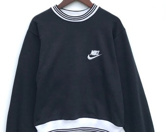82dcee30fc8e Vintage Nike Swoosh Small Logo Sweatshirt   Small   Vintage Sweatshirt    Athletic   Aesthetic Clothing