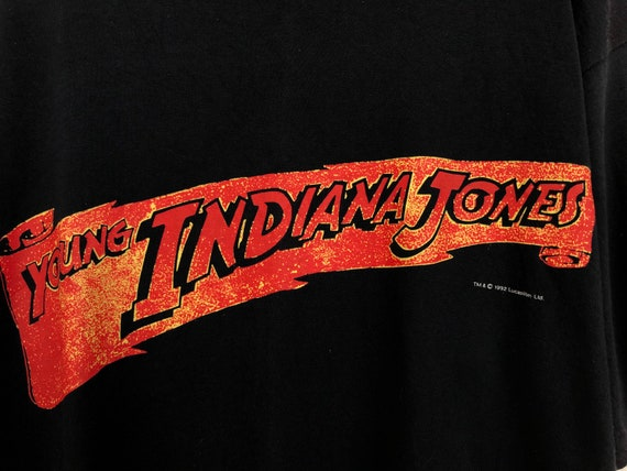 Vintage 90s The Young Indiana Jones Chronicles T-s