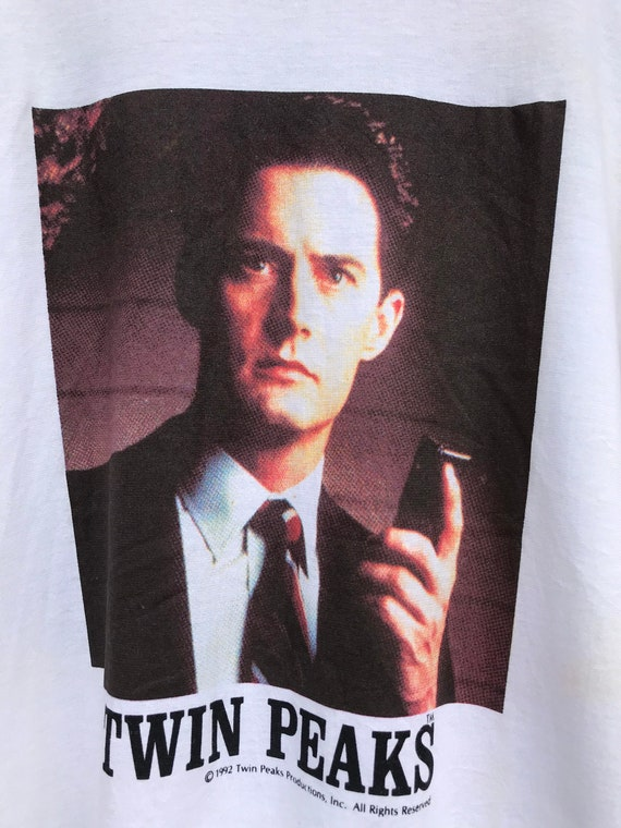 Vintage 90s Twin Peaks Special Agent Dale Cooper P