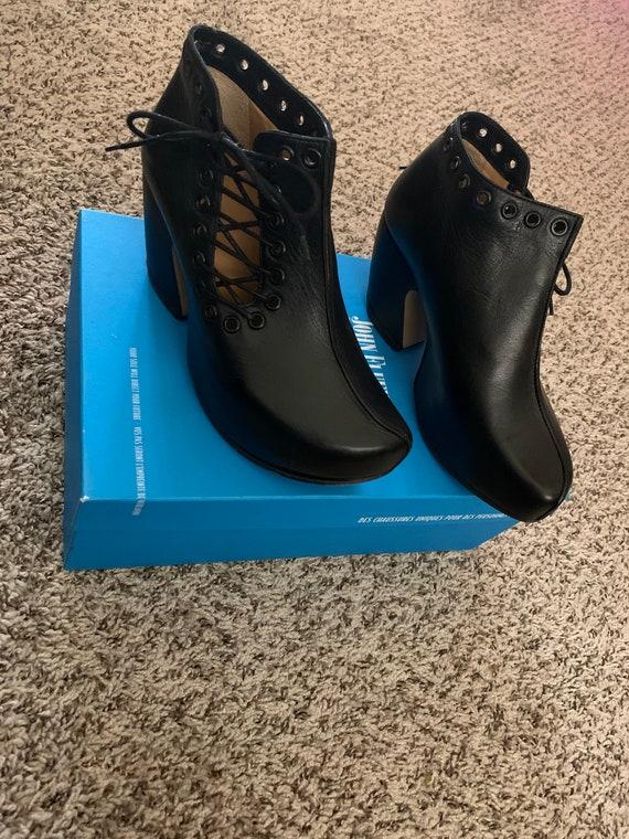 John Fluevog Platform Shoes  6.5
