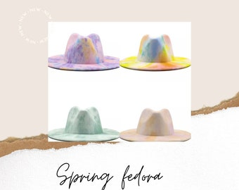 Summer fedora hat  wedding honeymoon easter