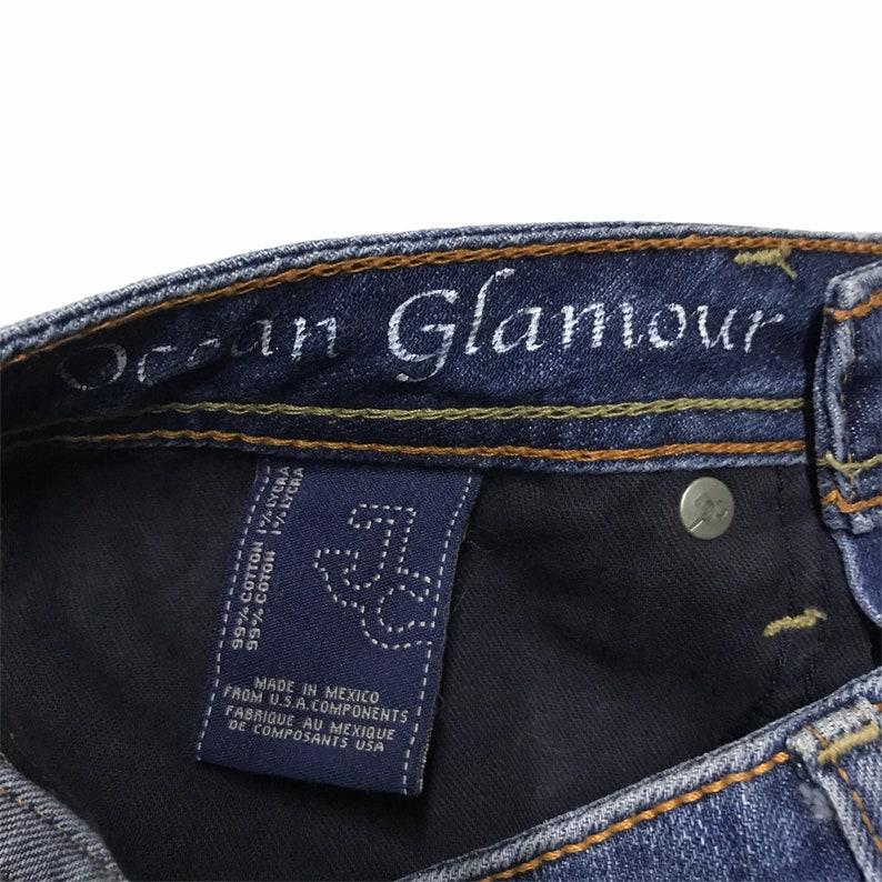 J /& company bling design denim skirt