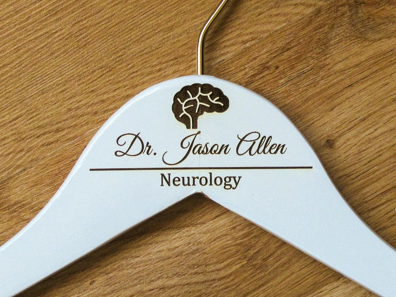 Personalized Neurologist Hanger Gift for Neurologist Coat Hanger New Doctor Gift Medical Gift for Doctor/'s Day Doctor Appreciation Gift