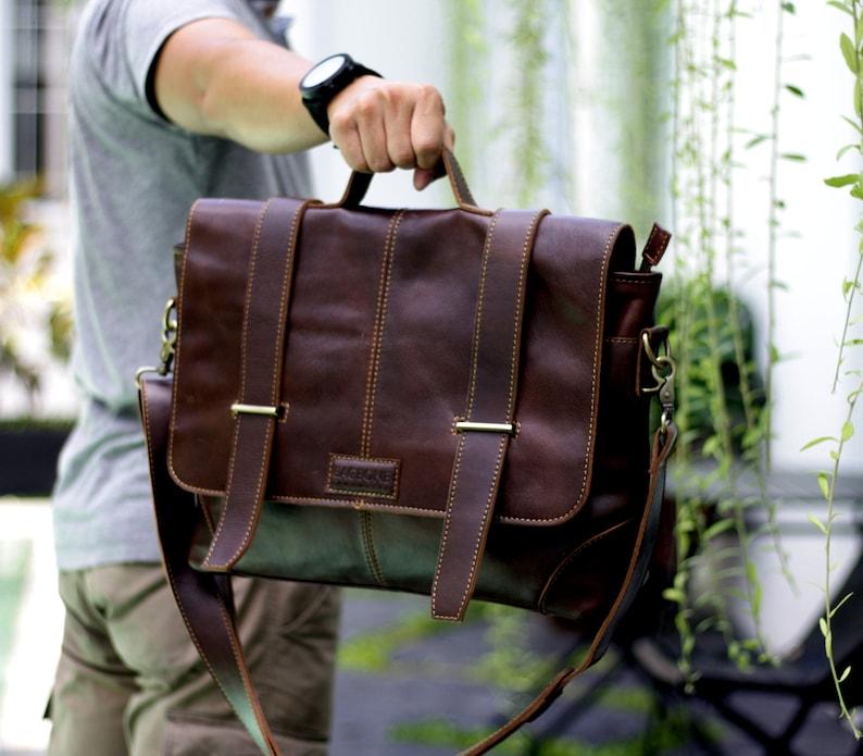 leather laptop bag men leather briefcase vintage on Camel Maldini leather briefcase laptop bag