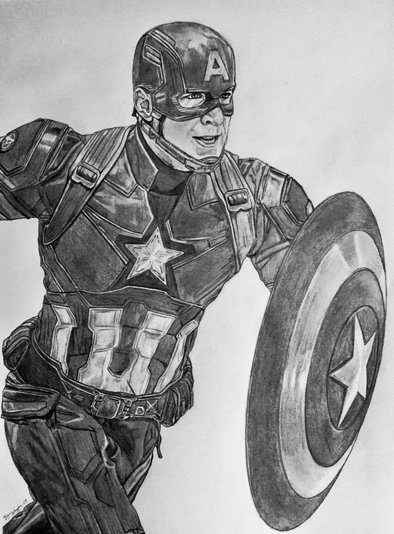 HWC Trading Chris Evans Signed A4 Printed Autograph Captain America The Avengers Print Photo Picture Display
