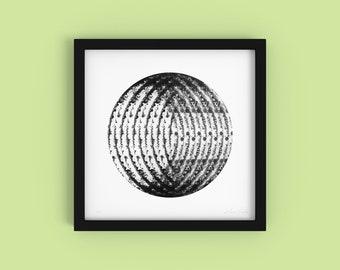 Pimentos - Minimalist Black and White Fine Art Print - Limited Edition 1/250 - Digital Photography