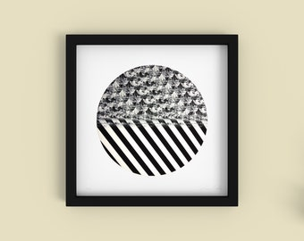Smoothie - Minimalist Black and White Fine Art Print - Limited Edition 1/250 - Digital Photography