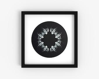 Onion - Minimalist Black and White Fine Art Print - Limited Edition 2/250 - Digital Photography