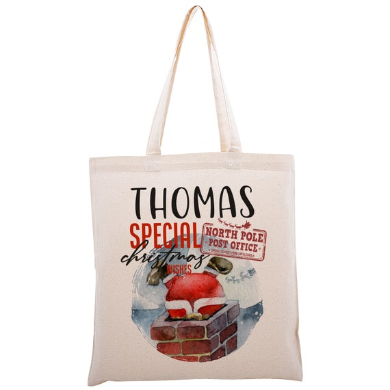 lighted tree themed Bag Weekender Bag christmas themed bags custom bags gift bags beach bag Custom Tote personalized totes