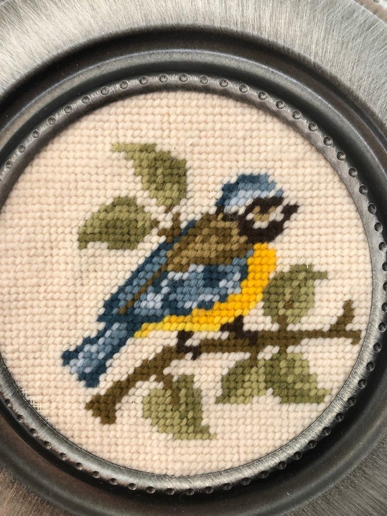 Needle Point Bird Picture