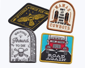 Country Music Patch 4-Pack