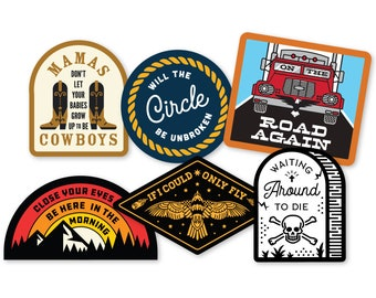 Outlaw Sticker 6-Pack