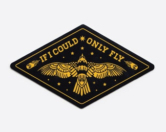 If I Could Only Fly Sticker