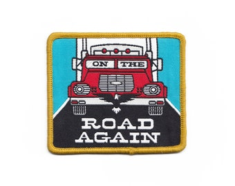On the Road Again Patch