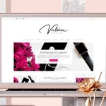 Victoria • Responsive Blogger template, premium Blogger theme with slider, feminine Blogspot layout, premade simple lifestyle blog design