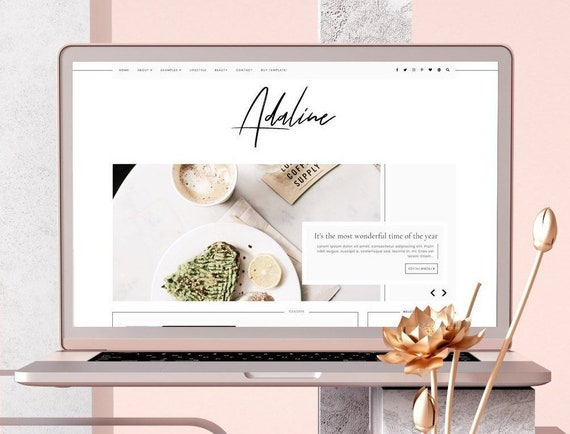 Orchid a clean responsive personal blogger template.
