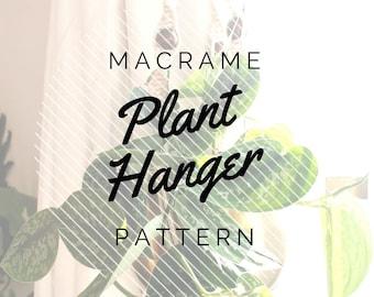 Macrame Plant Hanger - Digital Pattern