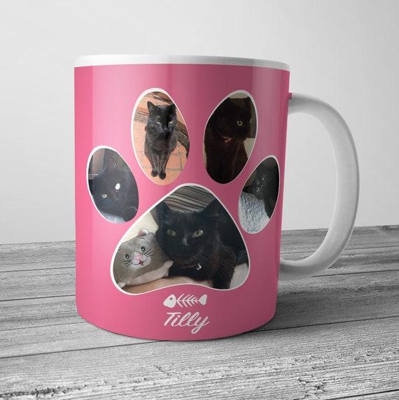 Cat Mug Un Deux Trois Cat Mug Cat Owner Mug Cat Coffee Mug Pet Cat Pet Cat Gift