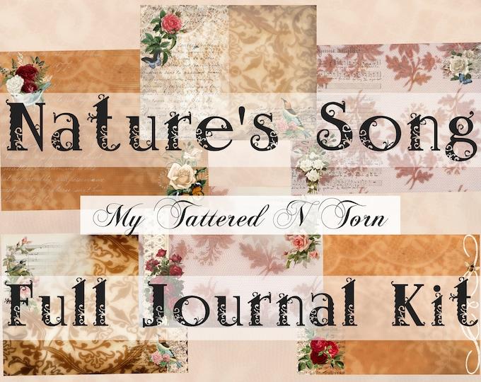 Nature's Song Junk Journal Digi Kit