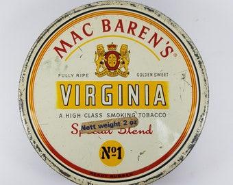 Mac Baren's Tobacco Tin