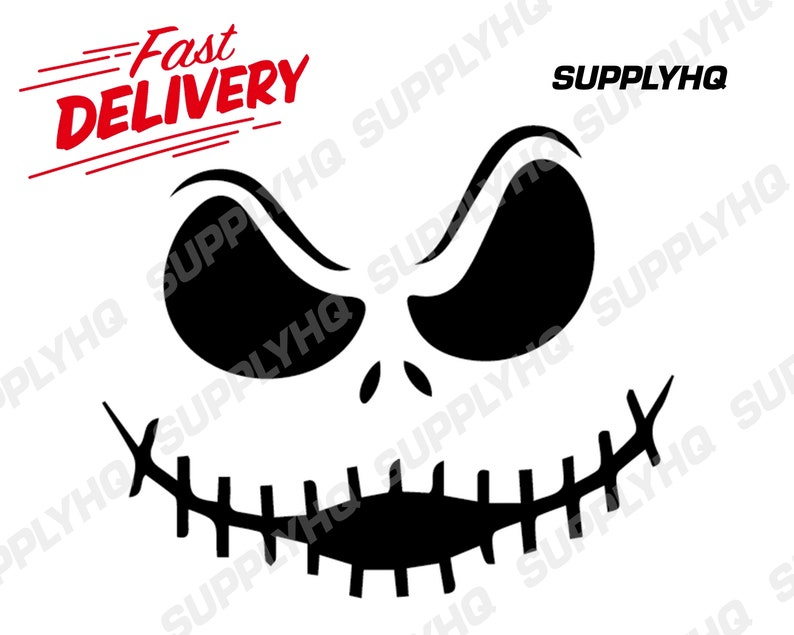 Skellington vinyl painting stencil for shoes /& small objects *high quality*