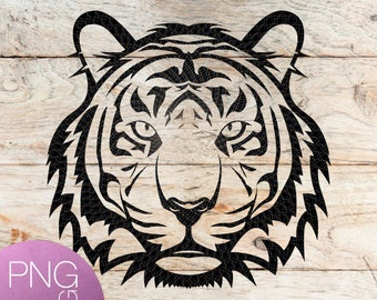 Tiger Svg Etsy