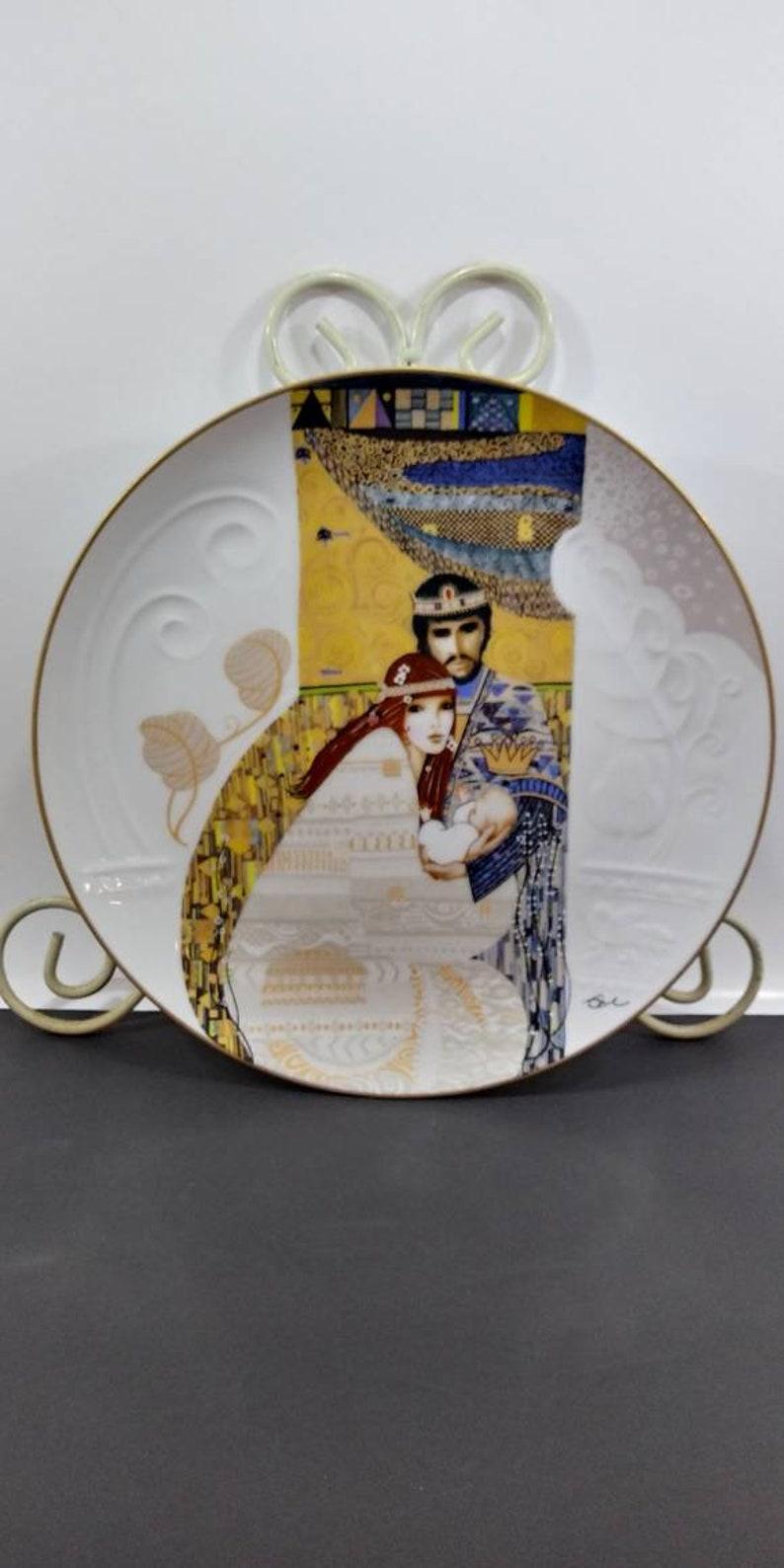 Wall Decor Bathsheba and Solomon Plate Collectible Plate