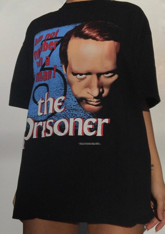 Vintage 90s graphic t shirt for The Prisoner