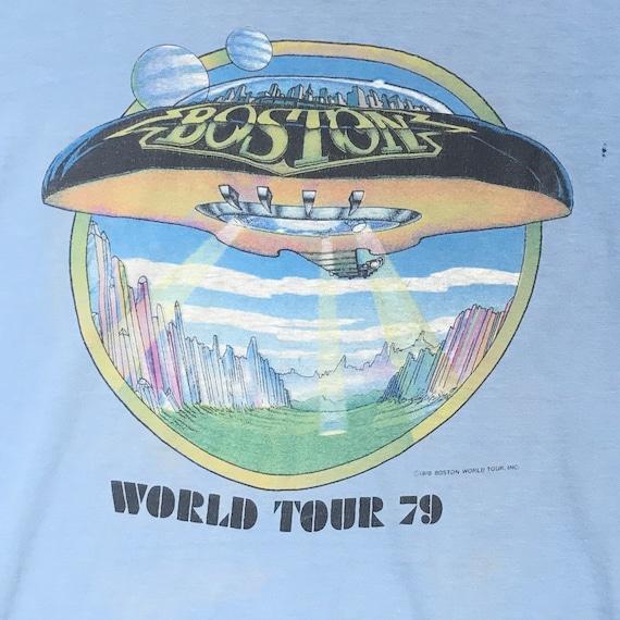 Vintage Boston 1978/79 World Tour original t shirt
